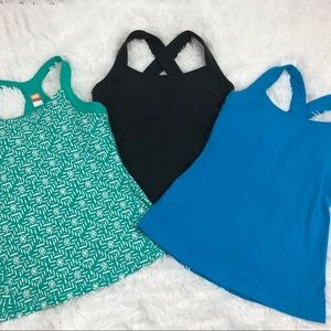 Lucy Tank Tops with Bra Bundle